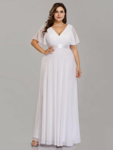 Svatební šaty bílé Ever Pretty 9890