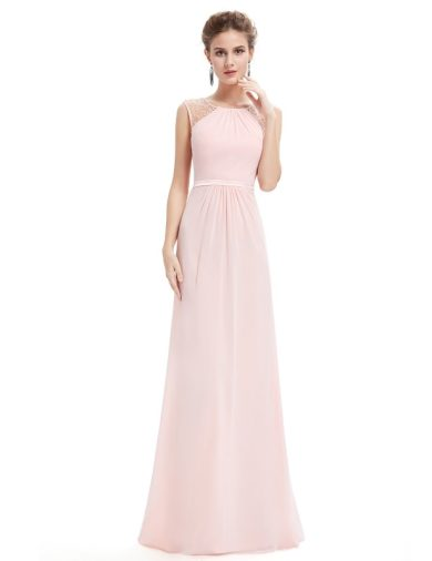 Ever Pretty plesové šaty starorůžové 8742