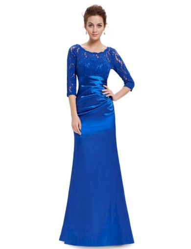 Společenské šaty Ever Pretty 9882 modré safír