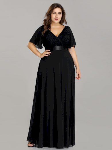 Ever Pretty plesové šaty černé 9890