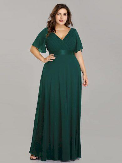 Ever Pretty plesové šaty zelené 9890