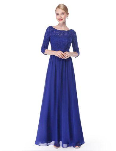 Společenské šaty Ever Pretty 8412 modré