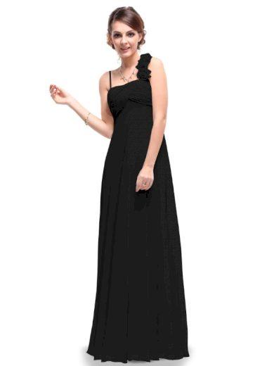 Ever Pretty plesové šaty černé elegantní 9766