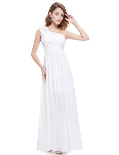 Ever Pretty svatební šaty bílé na ramínko 8237