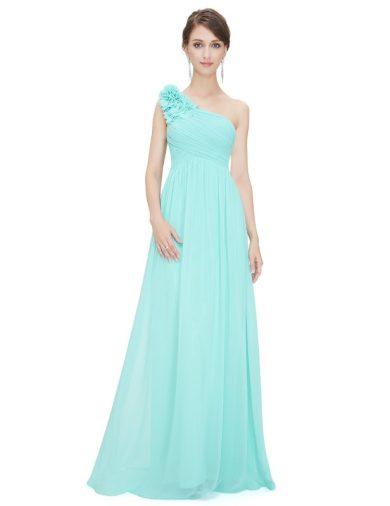 Ever Pretty plesové šaty tyrkysové 8237 LB