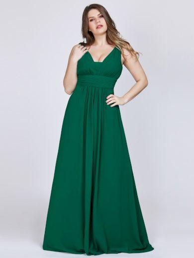 Ever Pretty plesové šaty elegantní zelené 8110