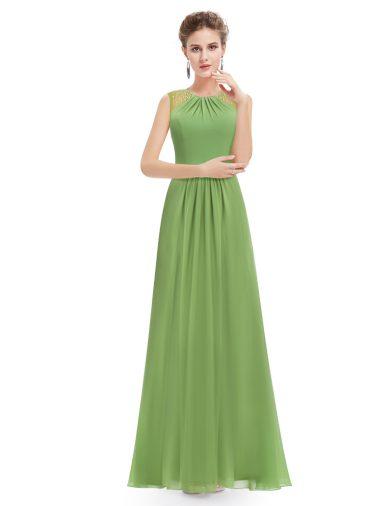 Ever Pretty plesové šaty s jemnou krajkou zelené 8742