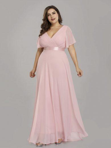 Ever Pretty plesové šaty růžové 9890