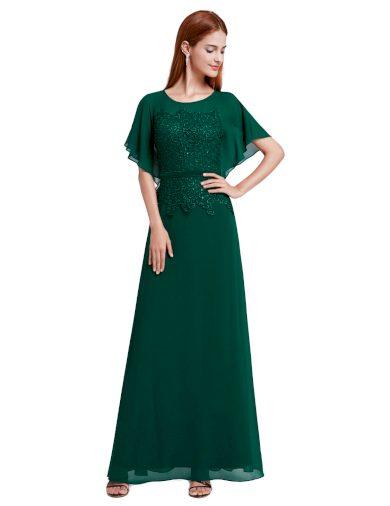 Ever Pretty plesové šaty zelená 8775