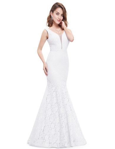 Svatební šaty Ever Pretty bílé krajkové 8838