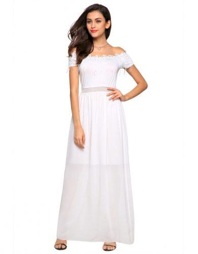 A Bílé šaty romantické letní i společenské