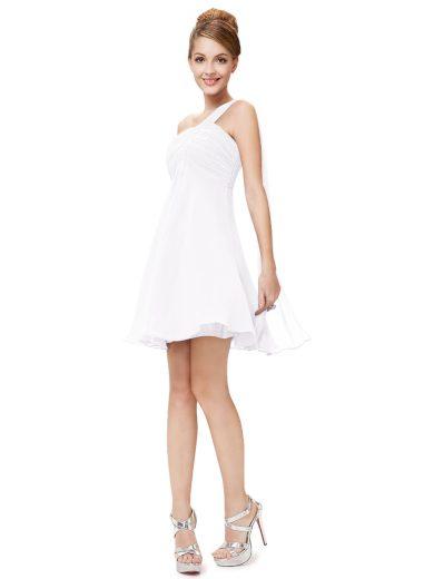 Ever Pretty šaty do tanečních, plesové bílé 3537