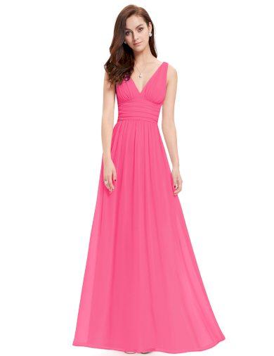 Ever Pretty plesové šaty růžové 9016