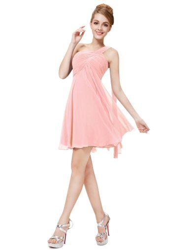 Ever Pretty šaty do tanečních, plesové růžové 3537