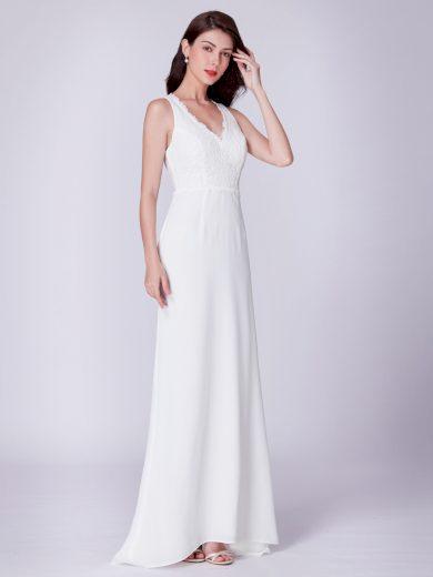 Ever Pretty úchvatné bílé šaty 7385