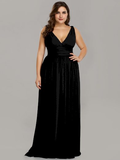 Ever Pretty plesové šaty černé 9016