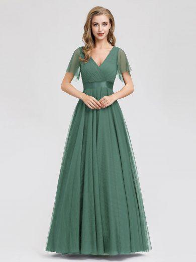 Ever Pretty plesové šaty zeleno šedé 7962