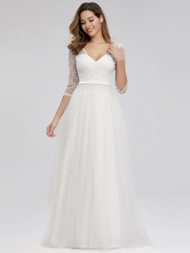 Ever Pretty luxusní bílé šaty 0806