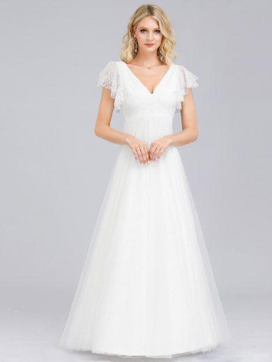 Ever Pretty krásné bílé šaty 0857