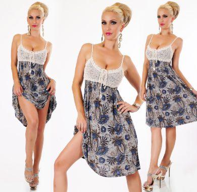 Luxusní letní krátké šaty ST133