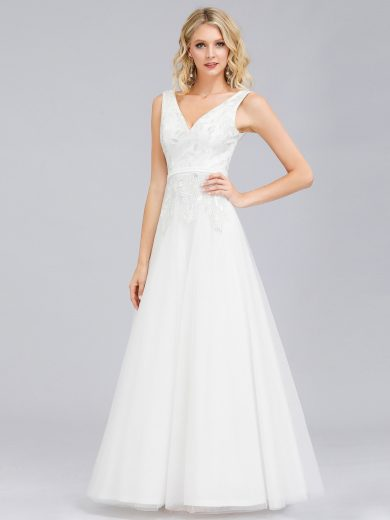 Ever Pretty krásné bílé šaty 0845
