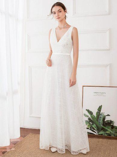 Ever Pretty luxusní bílé šaty 0714