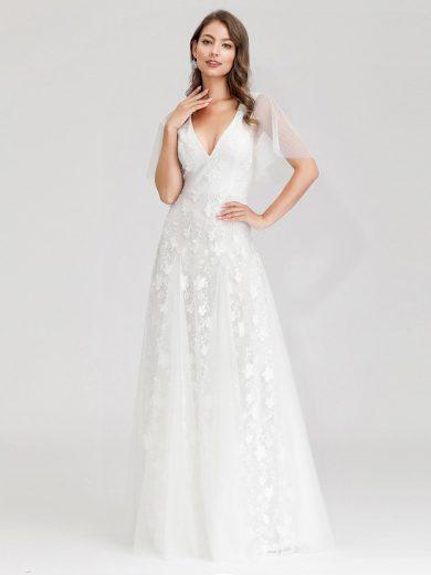 Ever Pretty luxusní bílé šaty 0723