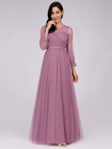 Ever Pretty plesové šaty fialovo růžové 7663