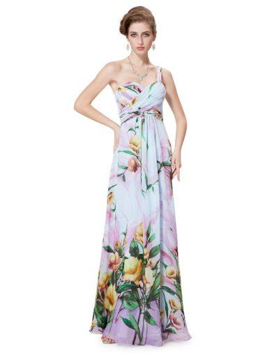 Ever Pretty letní květinové šaty 8394