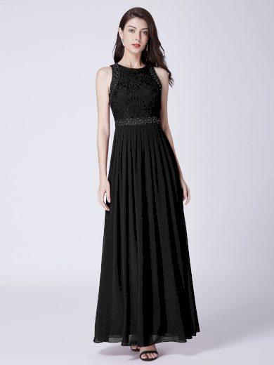 Dámské elegantní plesové šaty Ever Pretty černé 7391