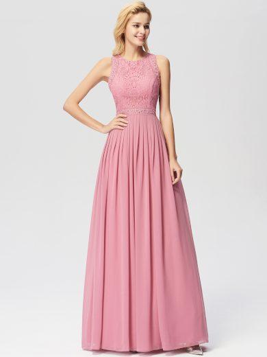 Dámské elegantní plesové šaty Ever Pretty růžové 7391