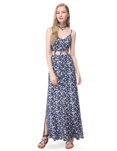 Ever Pretty nevšední dlouhé letní šaty 7052