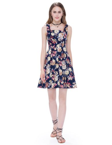 Ever Pretty krátké letní šaty 5489