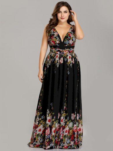 Ever Pretty plesové šaty květinové 9016