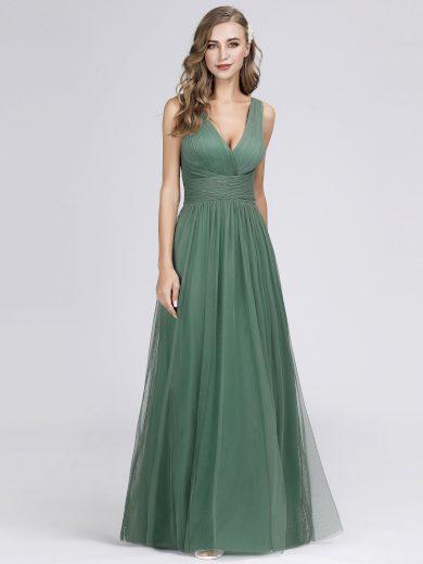 Dámské luxusní plesové šaty Ever Pretty 7526 zelené