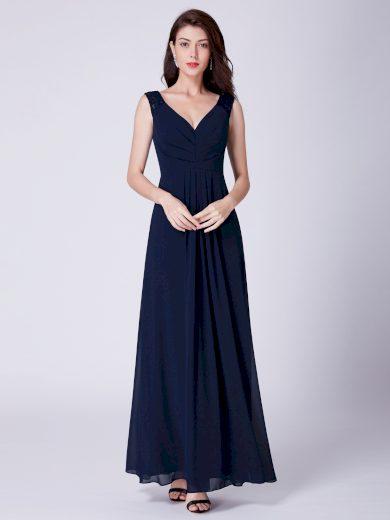 Ever Pretty tmavě modré dlouhé šaty 7420