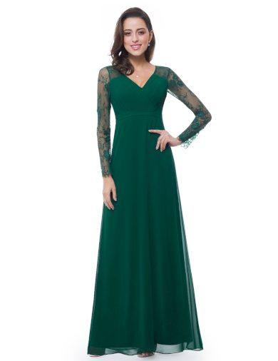 Šaty Ever Pretty plesové šaty zelené 8692