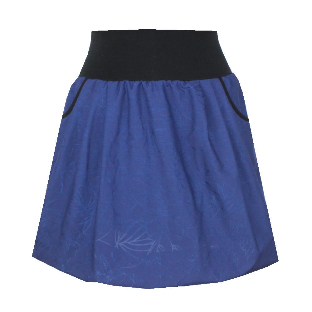 Balonová sukně, vypalované vzory, kapsy