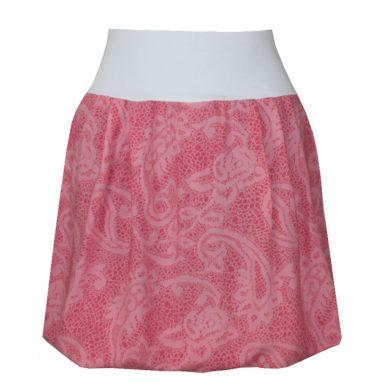 Letní balonová sukně, korálová