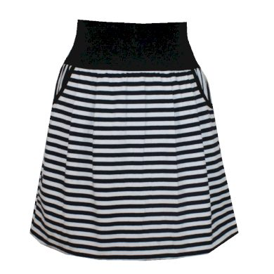 Námořnická balonová sukně, kapsy