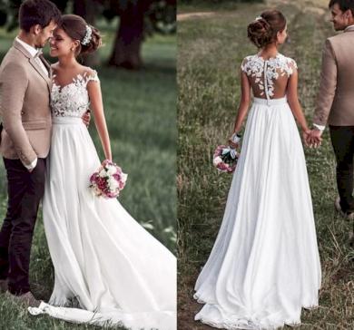 Svatební šaty Lilien