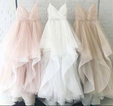 Nádherné nadýchané plesové svetební šaty více variant