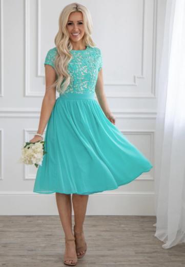 Nádherné plesové družičkovské šaty