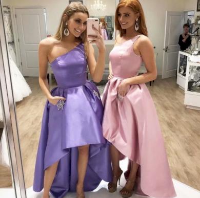 Nádherné lesklé společenské plesové šaty