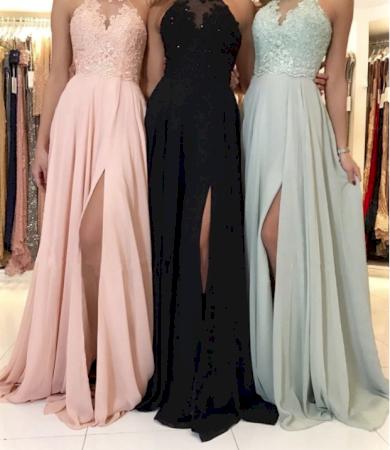 Nádherné dokonalé družičkovské dámské šaty s vázáním