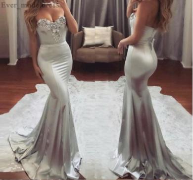 Tvarující luxusní dámské družičkovské šaty se zdobením