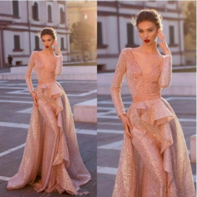 Jemné elegantní dámské družičkovské šaty s volánky