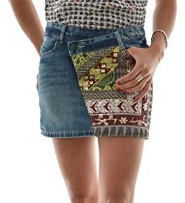 Dámská džínová mini sukně Desigual
