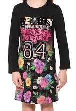Dětské květované šaty Desigual