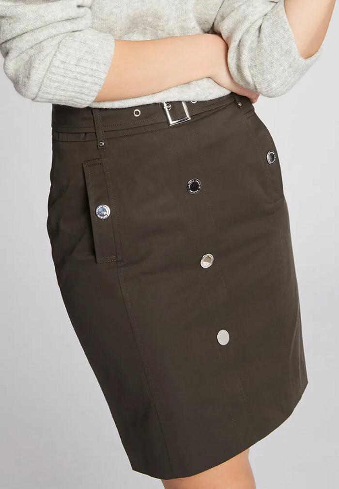 Dámská khaki sukně Morgan